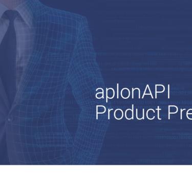 aplonAPI product presentation for PSD2 solution