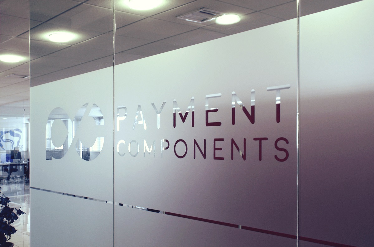Office entrance of fintech PaymentComponents