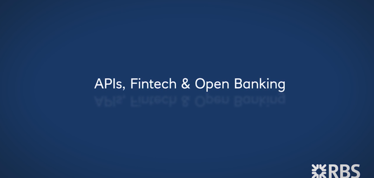 APIS, Fintech and Open banking of Royal Bank of Scotland