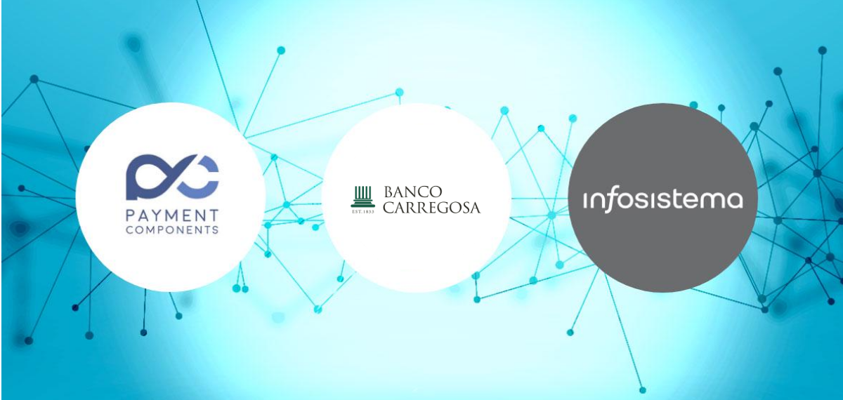 PaymentComponents & Infosistema welcome Banco Carregosa to the aplonAPI family